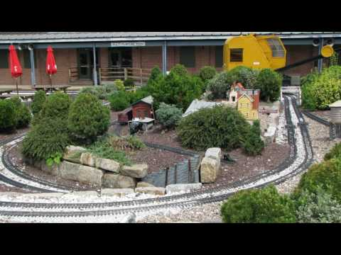 Landscaping Railroad Toy Train -Great Concepts For Outdoor Model Railway Trains at the B&O Railroad Museum