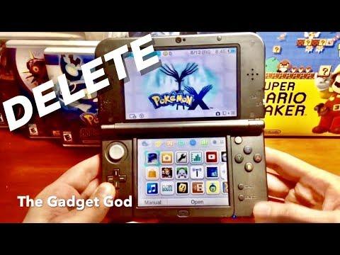 How To Delete / Restart Pokemon X, Y, Sun, Moon, Alpha Sapphire & Omega Ruby!