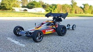 Bandit VXL Dragster Speed Run Test