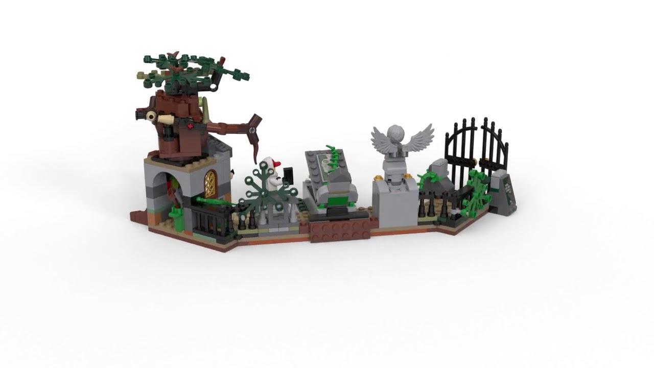 LEGO Hidden Side Mistero nel Cimitero