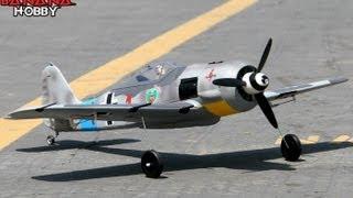 Focke Wulf FW190 Parkflyer Flight Review in HD!