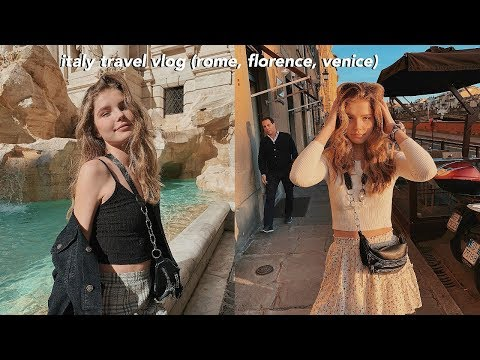 traveling to Europe for the first time ever (Italy)