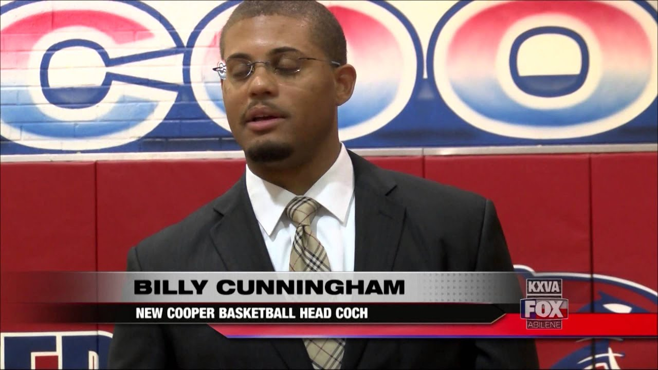 Billy Cunningham named Abilene Cooper boys head basketball coach