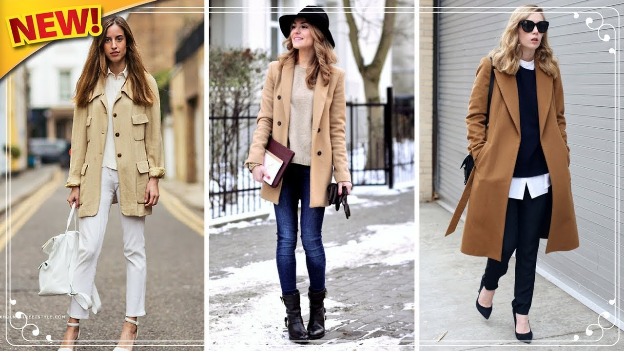 23 Outfits that shows You Need a Camel Coat for winter