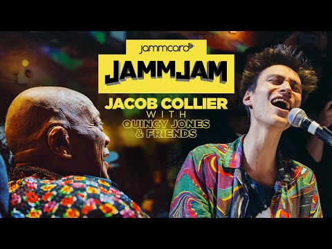 Jacob Collier live at the #JammJam with Quincy Jones and Friends
