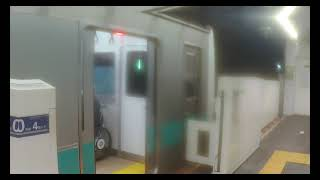 【東京メトロ千代田線】 JR東日本E233系2000番台マト7編成 各駅停車 松戸行き(JR常磐線直通) 表参道発着