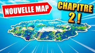 FORTNITE CHAPITRE 2 : Nouvelle map, on visite !