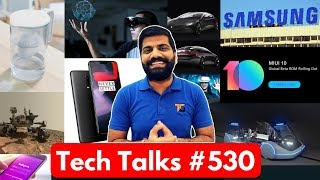 Tech Talks #530 - Apple Car, AI Camera, MIUI 10 Beta, OnePlus 6 Sales, NASA Rover