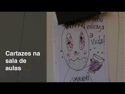 Cartazes na sala de aulas