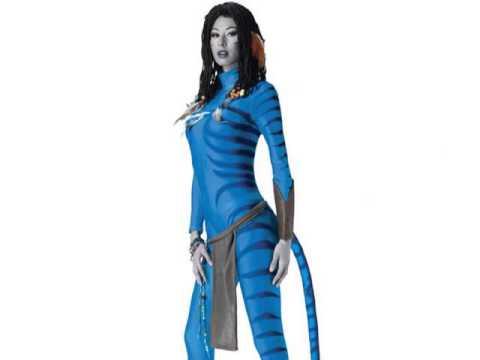 Avatar Neytiri Costumes  sc 1 st  YouTube & Avatar Neytiri Costumes - YouTube