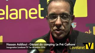 Hassan Addioui - Gérant du camping Le Pré Cathare
