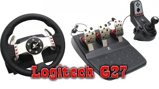 Руль Logitech G27 ( ОБЗОР )