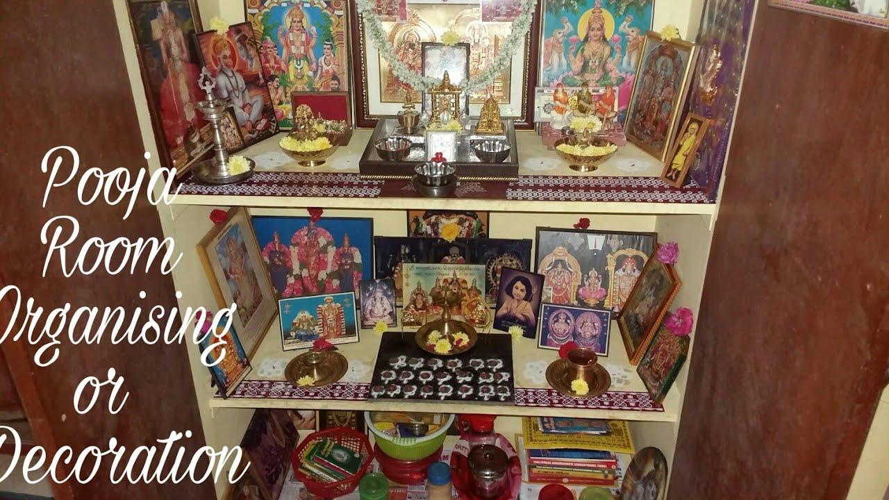 My Pooja Room Arrangement Video How To Organize Pooja Room