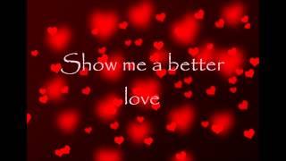Better Love- Foxes (Lyrics Video)