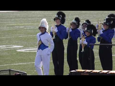Bad Axe High School Band performs at Chippewa Valley High School