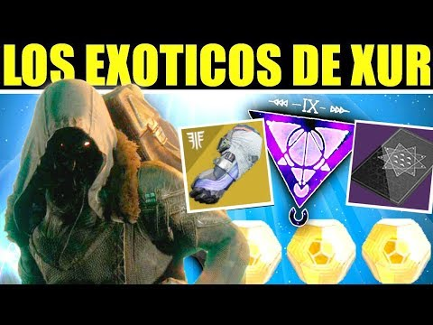 Destiny 2: Localización de Xur! Exóticos! Invitación de los Nueve! Contratos! | 22 de Marzo thumbnail