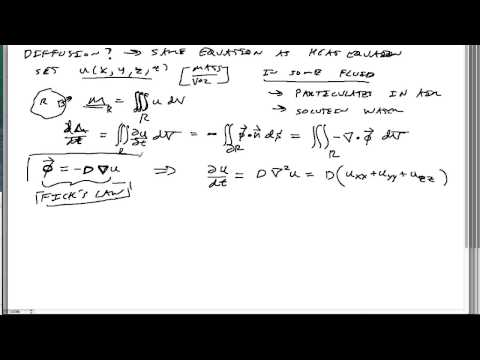 23-Heat transfer, transport, and diffusion in 2D and 3D