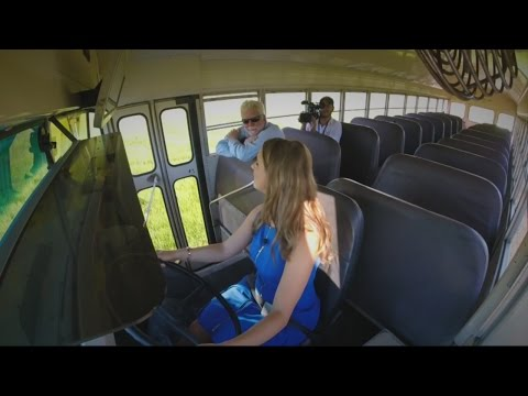 Bus driver worries about kids' safety