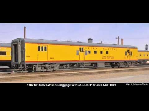 Union Pacific Railroad 1954 City of San Francisco by The Coach Yard