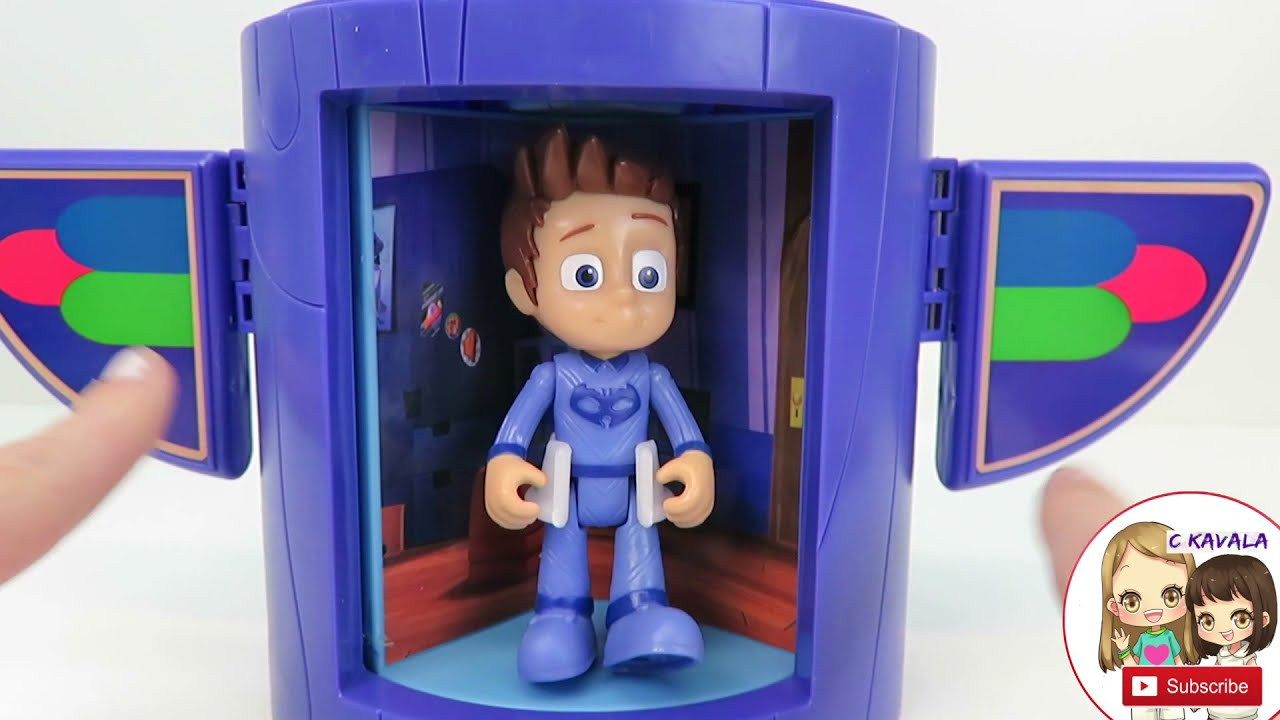 Collect all three! PJ Masks Transforming Figures