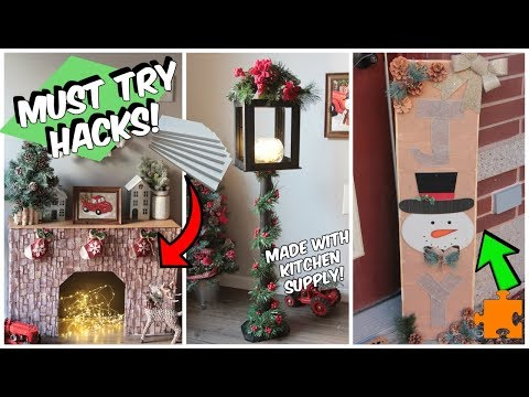 4 Dollar Tree Christmas Hacks You NEED to Try