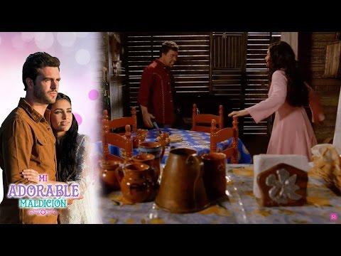 ¡Dionisio intenta abusar de Aurora! | Mi adorable maldición - Televisa
