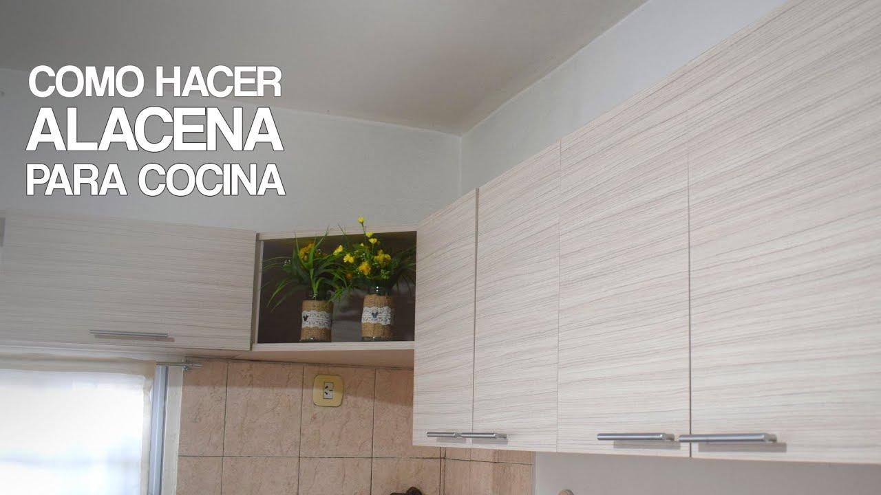 COMO HACER ALACENA INTEGRAL , PARA COCINA - PROYECTO MUEBLE