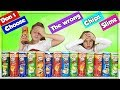 DON'T CHOOSE THE WRONG CHIPS SLIME CHALLENGE !