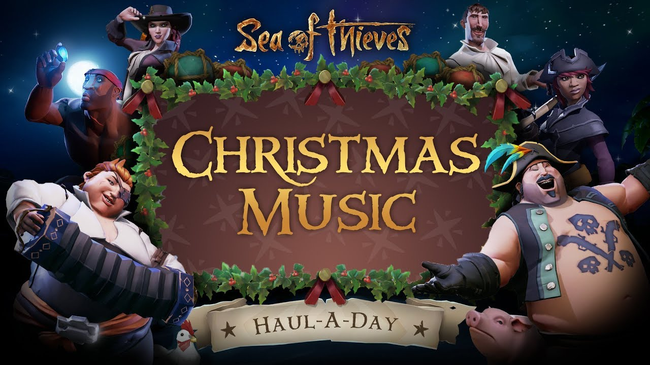 sea of thieves ost gilded gifts christmas event. Black Bedroom Furniture Sets. Home Design Ideas