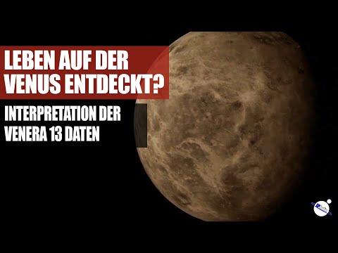 Leben auf der Venus entdeckt? - Interpretation der Venera 13 Daten