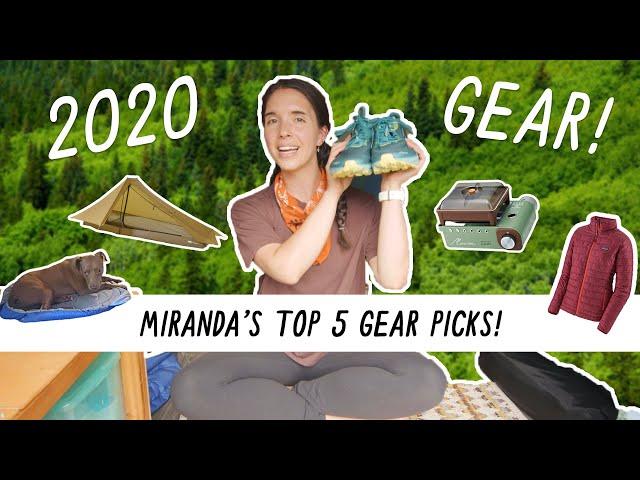 Miranda in the Wild | Favorite New Outdoor Gear for 2020