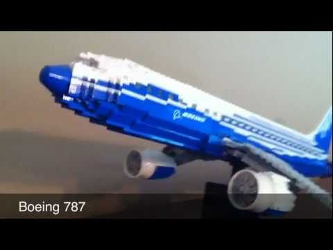 Lego Boeing 787 dreamliner set review and tour 10177 - YouTube
