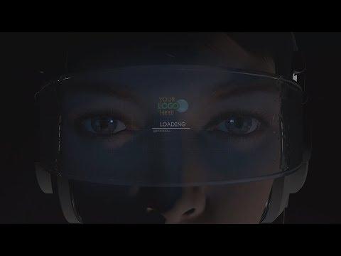 ID-0224 (Virtual reality technology logo reveal)