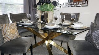 Elegant Table Styling Ideas    MIXING METALS    METALLIC