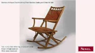Bamboo Antique Chair/rocking Chair Bamboo Seating And Chairs