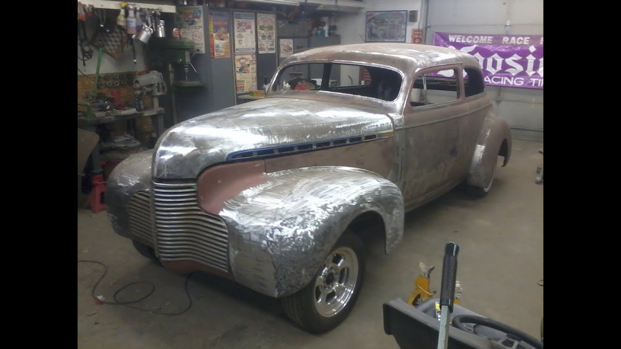 Chopped dropped 1940 chevy 2 door sedan customized for 1940 chevrolet 2 door sedan