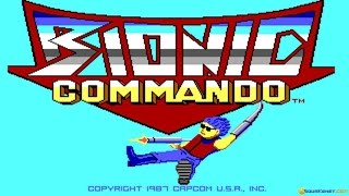 Bionic Commando gameplay (PC Game, 1988)