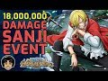 Walkthrough for Sanji 18,000,000 Damage Event Mission! [One Piece Treasure Cruise]