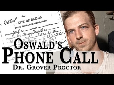 Lee Harvey Oswald's Phone Call Before His Assassination