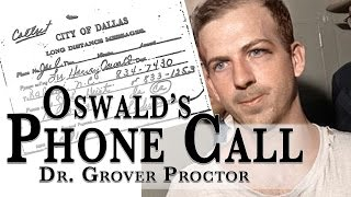 Lee Harvey Oswald's Final Phone Call Before His Assassination