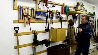 Система хранения инструмента в гараже(Система хранения инструмента в гараже. Разработана по принципу модульности. Каждый элемент может перемеща..., 2016-01-05T14:25:42.000Z)