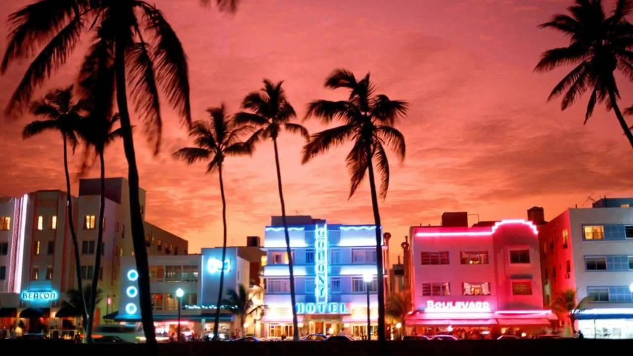 Flamingo Drive Miami Beach Florida