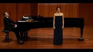 "Mariana Isaza ""Mädchenlied"" - J. Brahms"