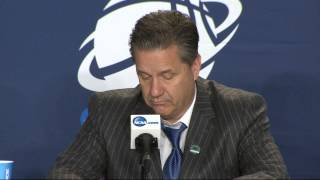 Kentucky Wildcats Postgame Press Conference after 3rd round win