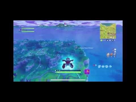 The most clueless player in fortnite. (Battle Royale)