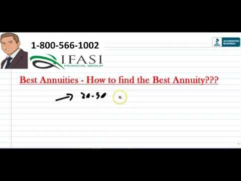 Best Annuities -  What Is The Best Annuity