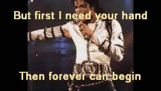 Michael Jackson - you are not alone ( karaoke+lyrics)