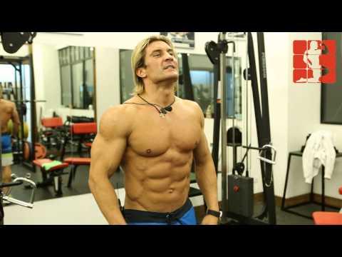 Дмитрий Яшанькин - Тренировка пресса в Lion Fight Baza
