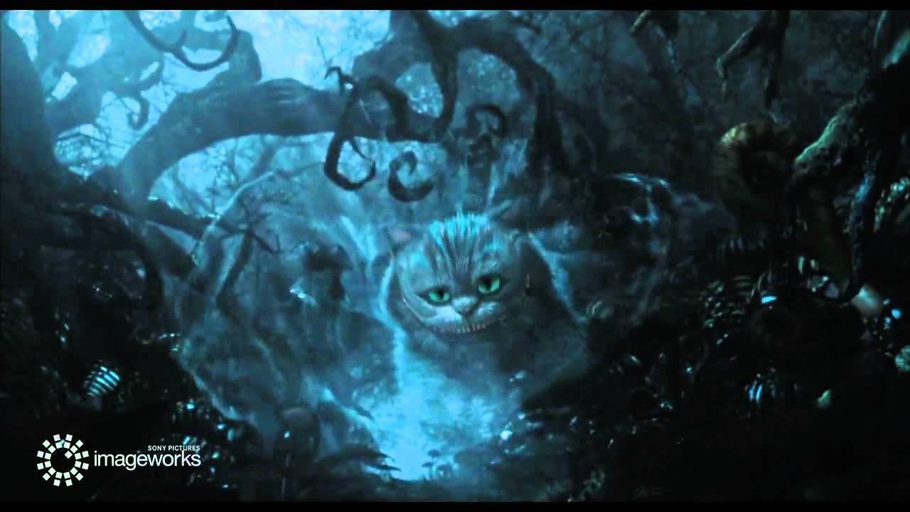 Cheshire Cat Through The Looking Glass