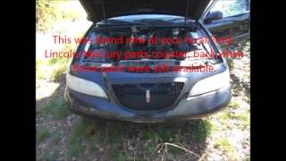 1998 Lincoln Mark VIII LSC Parts Car
